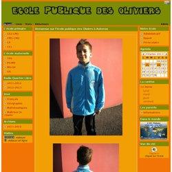 l'école publique des Oliviers à Aubenas