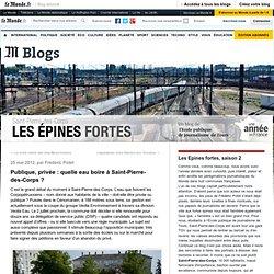 Publique, privée : quelle eau boire à Saint-Pierre-des-Corps ?