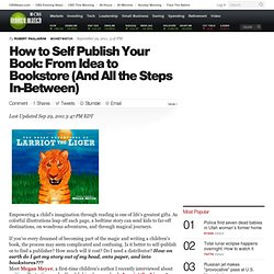 How to Self Publish Your Book: From Idea to Bookstore (And All the Steps In-Between) - CBS MoneyWatch.com