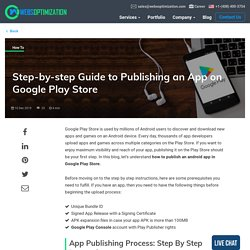 How to Publish an App on Google Play: A Step-by-Step Guide for 2020