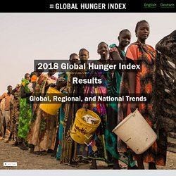 2018 Global Hunger Index Results - Global, Regional, and National Trends - Global Hunger Index - Official Website of the Peer-Reviewed Publication