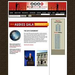 APA - Audio Publishers Association - Audies