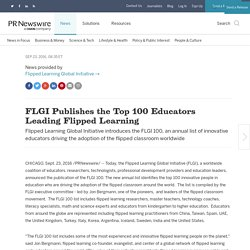 FLGI Publishes the Top 100 Educators Leading Flipped Learning