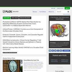 PLoS Biology : Publishing science, accelerating research