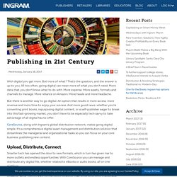 Publishing in 21st Century with CoreSource