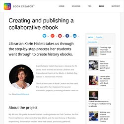 Creating and publishing a collaborative ebook