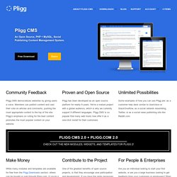 Pligg CMS | Open Source Content Management System