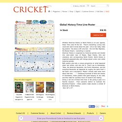 Carus Publishing/Cricket Magazine Group – Time Lines