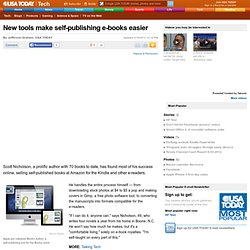 New tools make self-publishing e-books easier