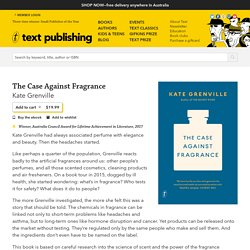 The Case Against Fragrance.