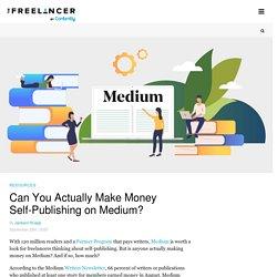 Can You Actually Make Money Self-Publishing on Medium?