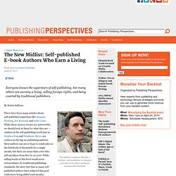 The New Midlist: Self-published Authors Who Earn a Living