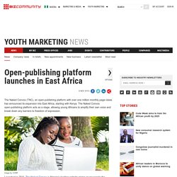 Open-publishing platform launches in East Africa