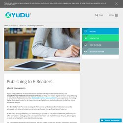 iPad & iPhone publishing apps