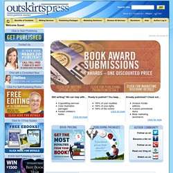 Self Publishing, Book Publishing, Print-on-Demand Full-Service Self-Publishing at Outskirts Press