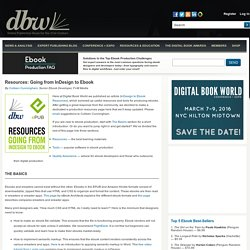 Ebook Publishing Software Resources