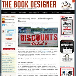 Self-Publishing Basics: Understanding Book Discounts