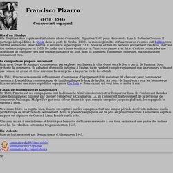 Publius Historicus: Pizarro