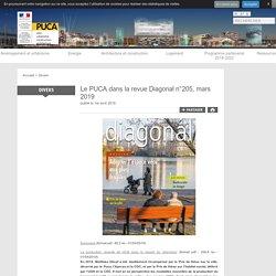 Le PUCA dans la revue Diagonal n°205, mars 2019