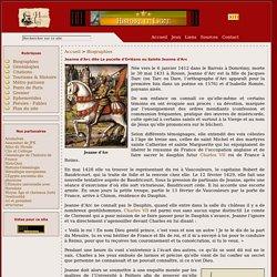Jeanne d'Arc dite La pucelle d'Orléans ou Sainte Jeanne d'Arc