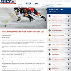 Puck Protection and Puck Possession at 12U
