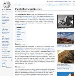 Pueblo Revival architecture