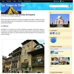 Los 25 Pueblos más Bonitos de España