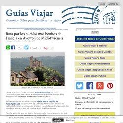 Pueblos más bonitos de Francia en Aveyron