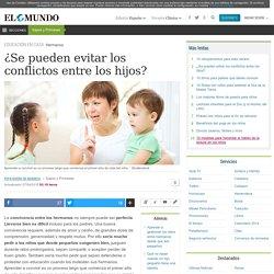 ¿Se pueden evitar los conflictos entre los hijos?