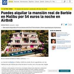 Puedes alquilar la mansión real de Barbie en Malibu por 54 euros la noche en AirBnB