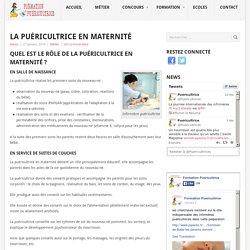 Le rôle de la puéricultrice en maternité - Formation-puéricultrice
