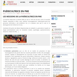 Puéricultrice en PMI - Formation Puéricultrice