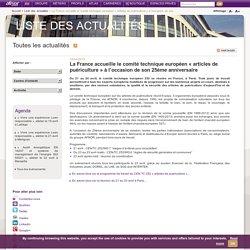 La France accueille le comité technique européen « articles de puériculture » à l'occasion de son 25ème anniversaire