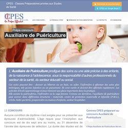 Préparation au concours Auxiliaire de Puériculture - CPES - Classes Préparatoires privées aux Etudes de Santé
