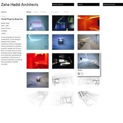 Zaha Hadid Architects » Hotel Puerta America