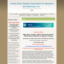Puerto Rican Studies Association (PRSA)