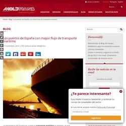 Los puertos de España con mayor flujo de transporte marítimo