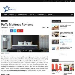 Puffy mattress reviews amazon