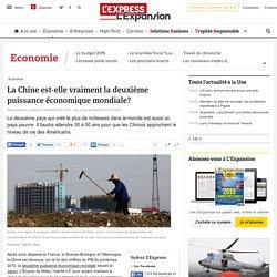 La Chine est-elle vraiment la deuxième puissance économique mondiale? - L'Express L'Expansion