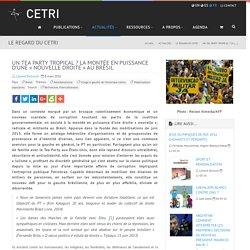 Un Tea Party tropical ? La montée en puissance d'une « nouvelle droite » au (...) - CETRI, Centre Tricontinental