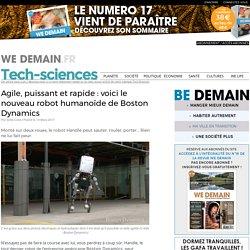 Agile, puissant et rapide : voici le nouveau robot humanoïde de Boston Dynamics