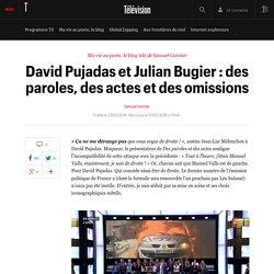 David Pujadas et Julian Bugier : des paroles, des actes et des omissions - Ma vie au poste