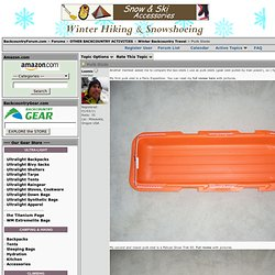 Pulk Sleds - BackcountryForum.com