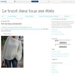 Pull tout doux de Didicatcat - Le tricot dans tous ses états