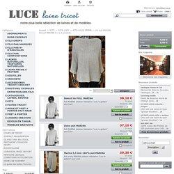 Kit pull MARINA - Luce laine tricot