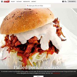 Pulled pork – godaste receptet