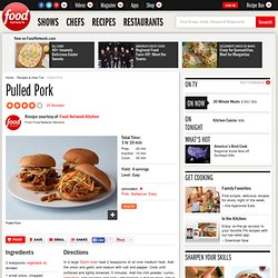 Pulled Pork Recipe : Food Network Kitchens