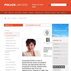 Pullos Lawyers - Cassandra Pullos
