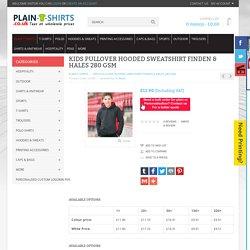 Kids Pullover Hooded Sweatshirt Finden & Hales 280 GSM