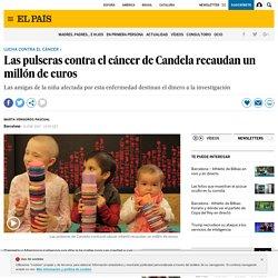 Las pulseras contra el cáncer de Candela recaudan un millón de euros